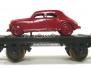 156 métal série Fiat rouge