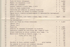1951/52 - prix LIRE - liste no 8