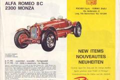 1968 - nouveautés - anglais/français/allemand