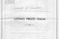 1969 - jouets - italien/anglais - prix LIRE