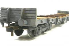 Roxy no 400 Proto à bogies plat