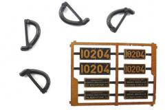 ROXY plaques pour AE 3/5  10204
